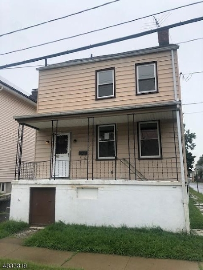 RAHWAY Single Family Home For Sale: 460 Harrison St
