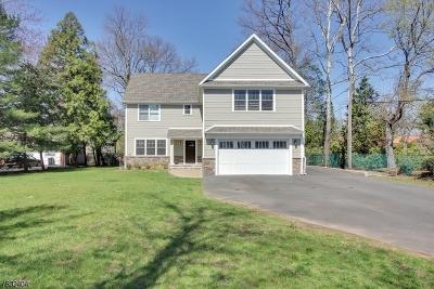 West Orange Twp. Single Family Home For Sale: 41 Ridge Rd