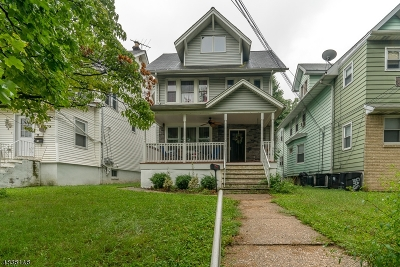 ELIZABETH Single Family Home For Sale: 906 Jersey Ave