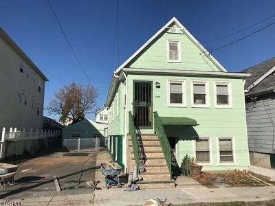 Hillside Twp. NJ Multi Family Home Sold: $250,000