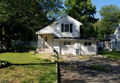 West Orange Twp. Single Family Home For Sale: 4 Ronald Ter