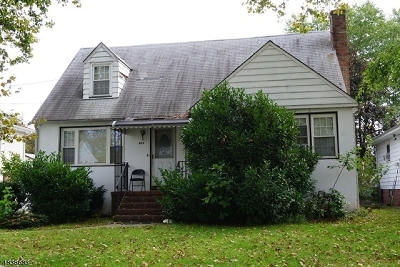 RAHWAY Single Family Home For Sale: 409 Princeton Ave