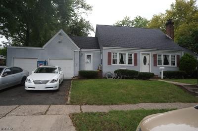 Roselle Boro Single Family Home For Sale: 551 E 7th Ave