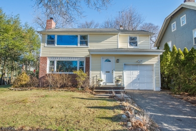 Montclair Twp. Single Family Home For Sale: 43 Macopin Ave