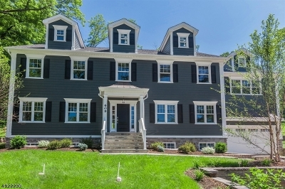 Chatham Twp. Single Family Home For Sale: 609 Fairmount Ave
