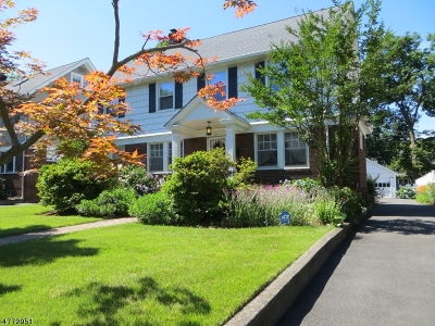 Montclair Twp. Single Family Home For Sale: 51 Ardsley Rd