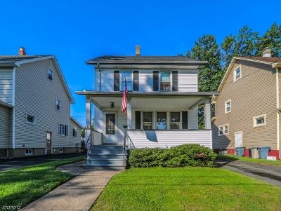 ROSELLE PARK Single Family Home For Sale: 508 Sherman Ave