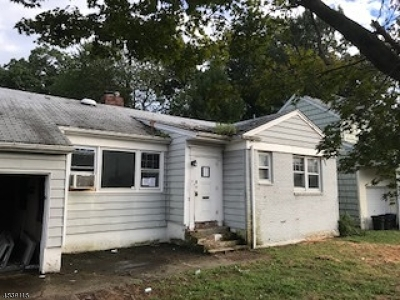 Passaic City Single Family Home For Sale: 7 Mineral Spring Ave