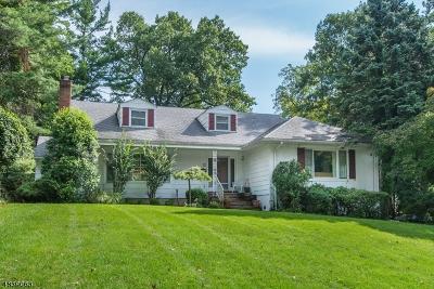 Millburn Twp. Single Family Home For Sale: 70 Slope Dr