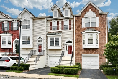 Nutley Twp. Condo/Townhouse For Sale: 234 Swathmore Dr