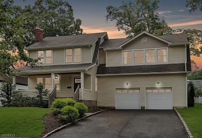 Livingston Twp. Single Family Home For Sale: 37 Berkeley Pl