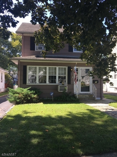Nutley Twp. Single Family Home For Sale: 59 Nutley Ave