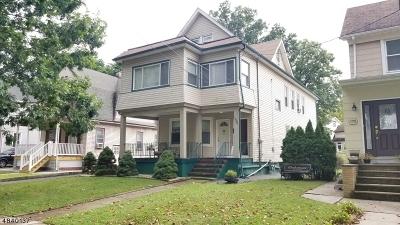 Roselle Park Boro Multi Family Home For Sale: 168 Union Rd
