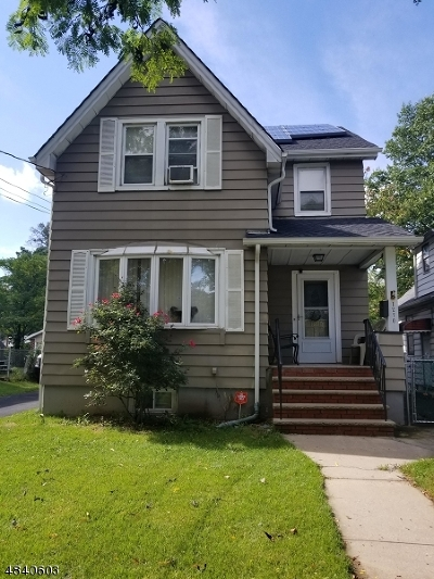 Roselle Boro Single Family Home For Sale: 1270 Chestnut St