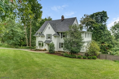 Maplewood Twp. Single Family Home For Sale: 24 Sagamore Rd