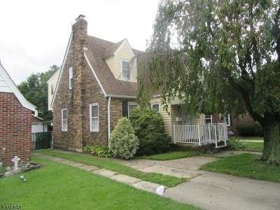 Woodbridge Twp. Single Family Home For Sale: 167 Clinton St