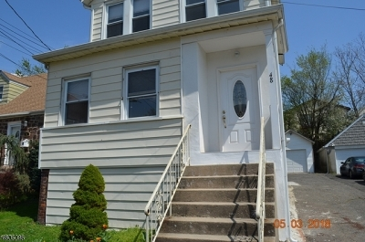 Nutley Twp. Single Family Home For Sale: 48 Ernest St