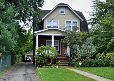 West Orange Twp. Single Family Home For Sale: 192 Gregory Pl