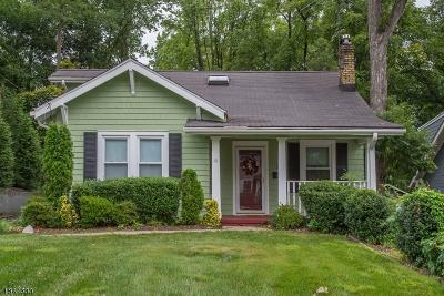 Millburn Twp. Single Family Home For Sale: 59 Pine St