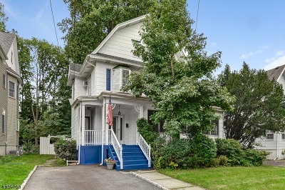 Cranford Twp. Multi Family Home For Sale: 219 W North Ave