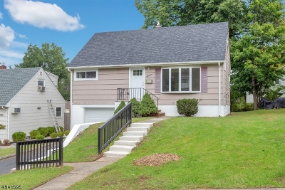 West Orange Twp. Single Family Home For Sale: 7 Marshall St