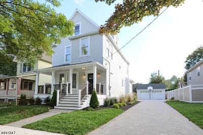 Montclair Twp. Single Family Home For Sale: 51 Gray St