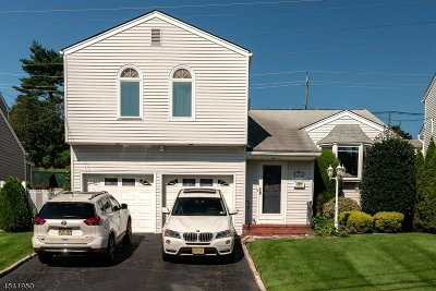 Nutley Twp. Single Family Home For Sale: 19 Gerard Rd