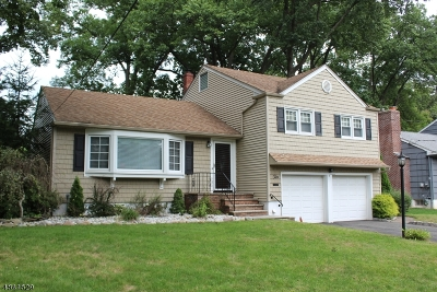 Cranford Twp. NJ Single Family Home For Sale: $575,000