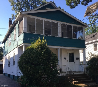 Montclair Twp. Multi Family Home For Sale: 43 Howe Ave