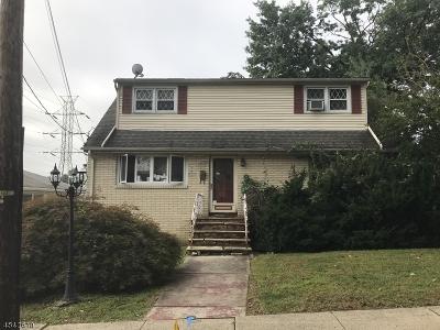Nutley Twp. Single Family Home For Sale: 125 San Antonio Ave