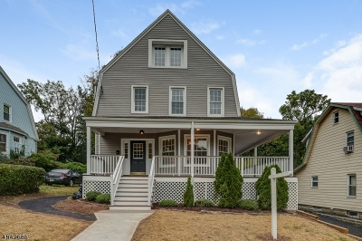 West Orange Twp. Single Family Home For Sale: 19 Lawrence Ave