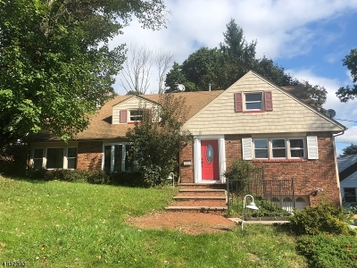 West Orange Twp. Single Family Home For Sale: 63 Stanford Ave