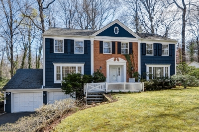 New Providence Boro Single Family Home For Sale: 8 Countryside Dr