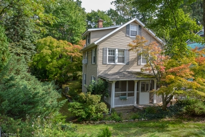 Morristown Town Single Family Home For Sale: 45 Washington Pl