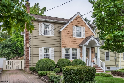 Nutley Twp. Single Family Home For Sale: 303 Hillside Ave