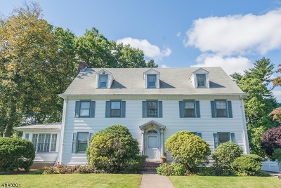 Montclair Twp. Single Family Home For Sale: 96 High St