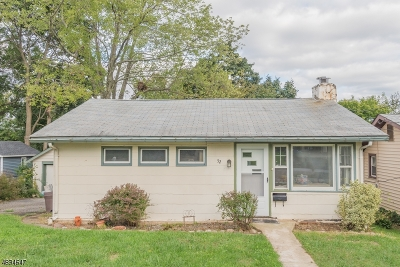 Parsippany-Troy Hills Twp. Single Family Home For Sale: 52 Nokomis Ave