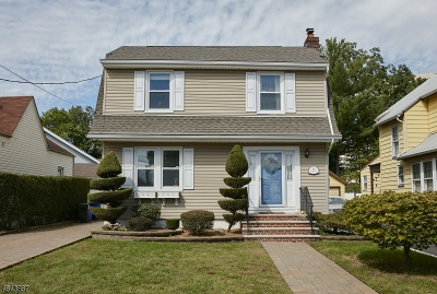 Nutley Twp. Single Family Home For Sale: 42 Montclair Ave