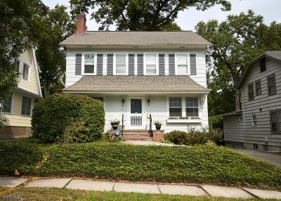 Montclair Twp. Single Family Home For Sale: 117 Buckingham Rd