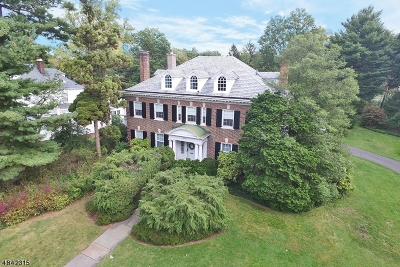 Essex County, Morris County, Union County Single Family Home For Sale: 3 Stoneleigh Park