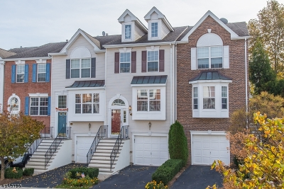 Nutley Twp. Condo/Townhouse For Sale: 213 Swathmore Dr