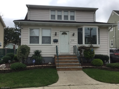 LINDEN Single Family Home For Sale: 2118 Ingalls Ave