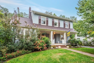 Montclair Twp. Single Family Home For Sale: 256 Grove St