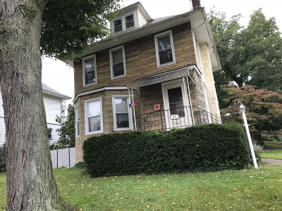 Nutley Twp. Single Family Home For Sale: 95 Union Ave.