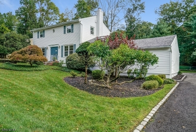 Livingston Twp. Single Family Home Active Under Contract: 25 Tremont Ter
