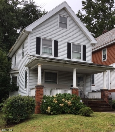 West Orange Twp. Single Family Home For Sale: 36 Condit Ter
