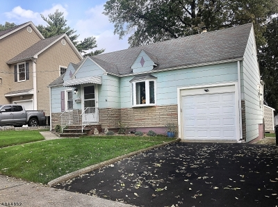 Nutley Twp. Single Family Home For Sale: 10 Grant Ave