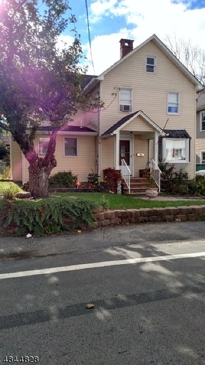Roxbury Twp. Single Family Home For Sale: 295 Center St