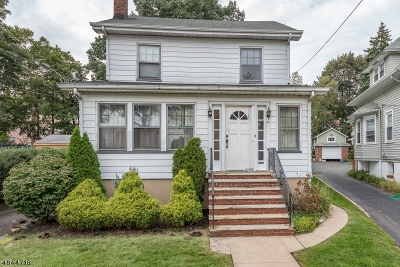 West Orange Twp. Single Family Home For Sale: 81 Valley Way