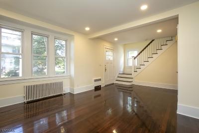 West Orange Twp. Single Family Home For Sale: 16 Ashwood Ter